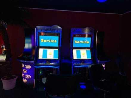 Spielhalle mit Automaten im Umland von Berlin