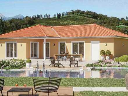 **Ebenerdig BAUEN - Ihr neuer Bungalow inkl. Grundstück! Plus KfW-EE40 Zuschuss von 33.750 €! **