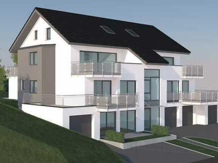 Erstbezug: stilvolle 4-Zimmer-Maisonette-Wohnung mit Einbauküche und Balkon in Bodman-Ludwigshafen