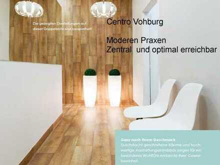 NEUBAU: CENTRO Vohburg; Moderne Praxen/Apotheke in optimaler Lage; 1.OG-Einheit mit 159,83 m²