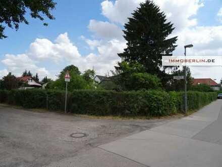 IMMOBERLIN: Schönes ca. 476 m² großes Baugrundstück im ruhigen Anliegerwohngebiet