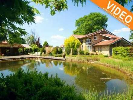 Geschmackvolle Villa mit vielen Highlights in schöner Lage von Recke!