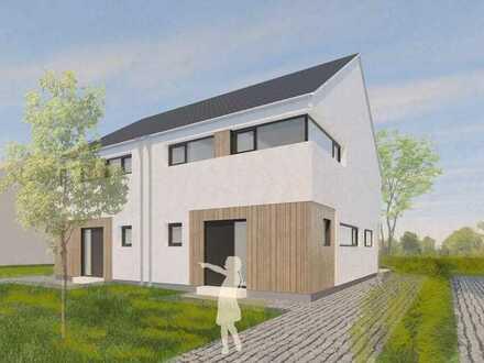 Individuell geplantes Architektendoppelhaus in Seenähe