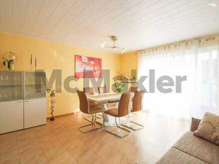 Stilvolle 4-Zi.-Maisonettewhg. in ruhiger Lage: Moderner Komfort samt Balkon und Garage in Mainleus