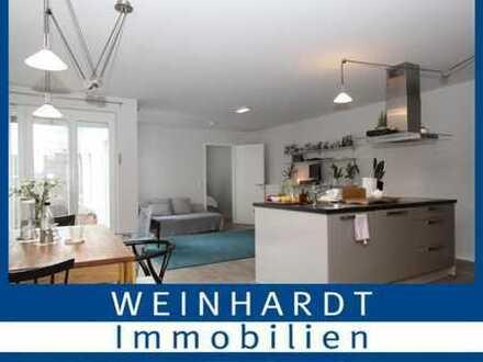 Viel Platz zum Wohlfühlen: Schöne Eigentumswohnung mit Garten in Hamburg-Hamm