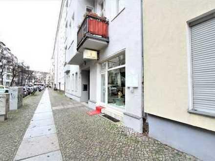 Charlottenburg: Exklusive Einzelhandels-/Bürofläche nahe Savignyplatz,ca. 60m², bezugsfrei ab 01.06.