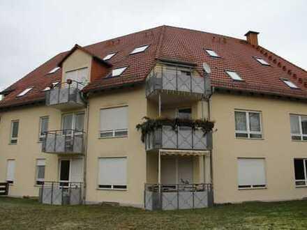 Vermietete Eigentumswohnung mit Balkon und Stellplatz in Glauchau / Niederlungwitz