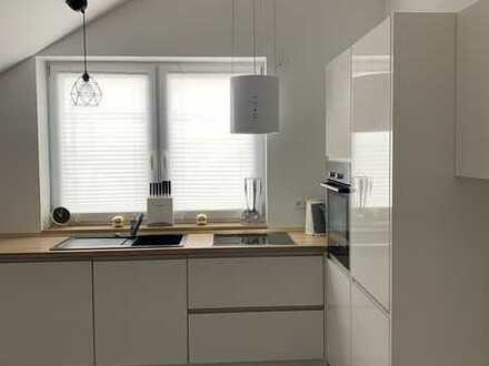 DG, 3,5 Zimmer-Wohnung mit Stellplatz, separatem WC und hochwertiger Ausstattung; ruhiges Wohngebiet
