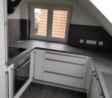 Neu renovierte, moderne 5-Zimmer-DG-Wohnung mit EBK und Balkon in Mögglingen ab 01.03.2020 zu verm.