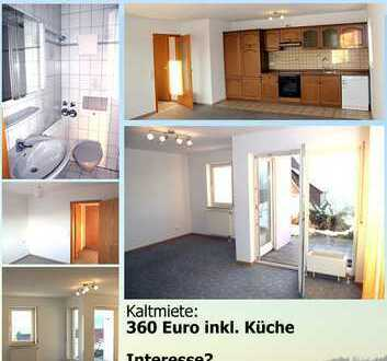 Schöne, helle zwei Zimmer Wohnung in Baiersbronn, Kreis Freudenstadt