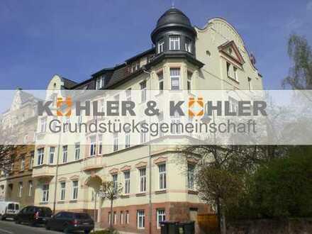 Eine perfekt geräumige 2R-Wohnung mit Blick über Waldheim