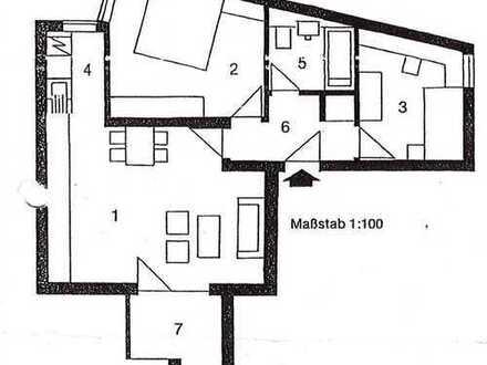 Erstbezug nach Sanierung: 3-Zimmer-Dachgeschosswohnung in Augsburg
