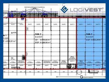 Logistik / 5.600 - 14.000 m² / Kreuz Herne A42/A43