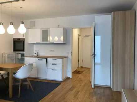 Helles Appartment - brandneu und möbliert - in zentraler Lage, ideal für Pendler