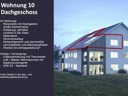 Schoafmichl - Röhlingen barrierefreie Dachgeschosswohnung im Ortskern