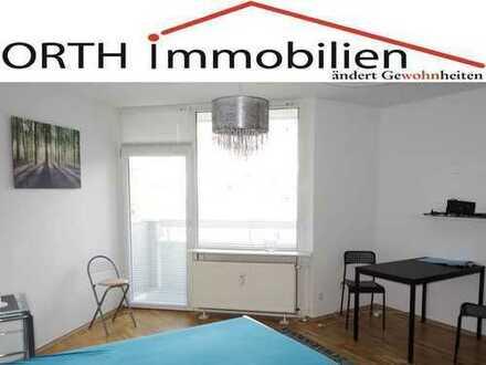 Möbeliertes Apartment mit Balkon, Pantry u. Aufzug in Marienburg