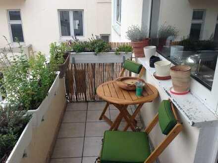 Schön geschnittene 3,5 Zimmerwohnung in Kaiserstraßennähe zu vermieten
