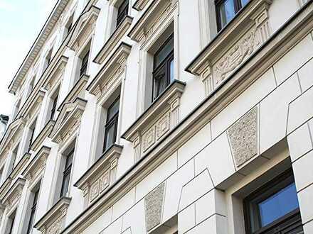 +++ Hochwertig saniertes Gründerzeithaus - 1,5 Zimmerwohnung m. EBK, Stuck und Parkett in Gohlis +++