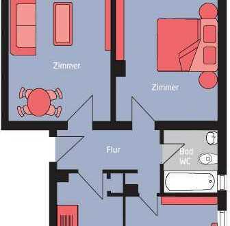 Schöne komplett modernisierte 3-Zimmer-Wohnung!