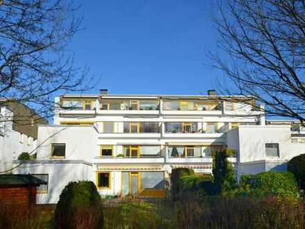 Blick ins Grüne- 1-Zimmer-Terrassenwohnung mit Garage in Elmschenhagen