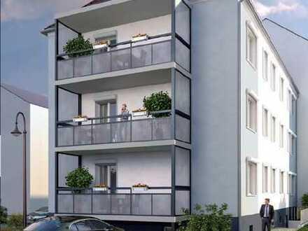 Fremdverwaltung - sanierte 3-Raum-Wohnung im Zentrum mit Balkon