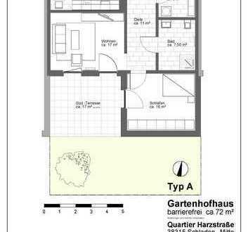 Gartenhofhaus - Seniorengerechtes Wohnen