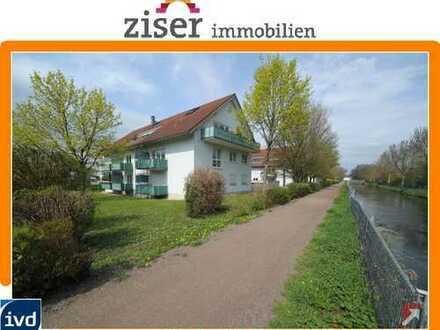 In ruhiger Wohnlage + am Mühlbach + bezugsfrei
