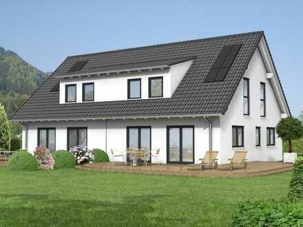 Neubauprojekt: DHH in Massivbauweise mit Fußbodenheizung und Solarthermie..!