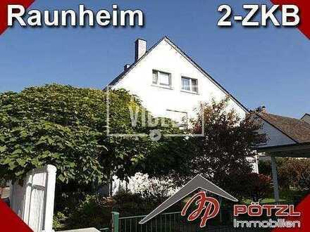 Top gepflegte 2-ZI DG Wohnung mit 60m² in kleiner Wohneinheit in Raunheim