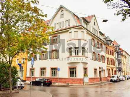 Gehobene Maisonette-Studio-ETW mit Balkon im Herzen von Ludwigshafen