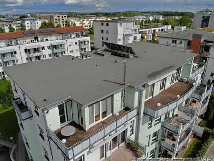 ++WILEY++ Modernes Penthouse mit Vollausstattung (2 TG, Kaminofen, EBK, usw..)