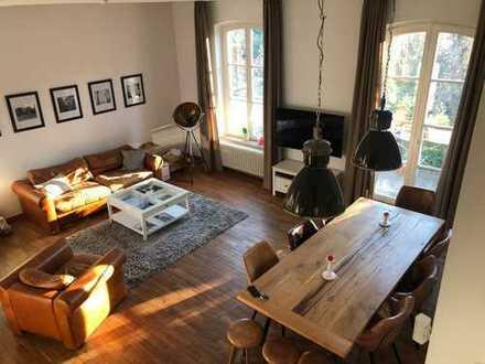 Traumhafte Altbauwohnung (Loft) am Westerberg inkl. Terasse & Garten 5ZKBBB (neue Kücher & Bäder)