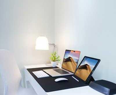 Coworking: Moderner und freundlicher Arbeitsplatz im stylischen Loft-Büro in Schnelsen
