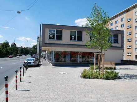 Zentrale Lage in Nürnberg-Westtorgraben: 133 m² Erdgeschoss- große Schaufensterfront- 103 m² Keller