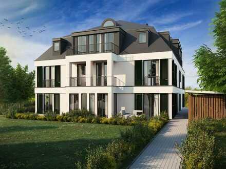 Großzügige Dachgeschosswohnung auf 2 Etagen mit Terrasse in Dahlem