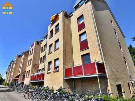Vermietetes Studenten-Apartment mit Balkon in Greifswald zur Kapitalanlage!