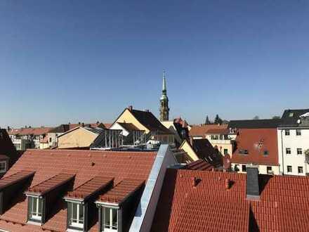 Maisonettwohnung mit Blick über die Dächer Radebergs