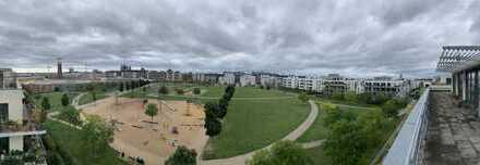 Penthouse-Wohnung mit traumhafter Dachterrasse und Blick auf Park