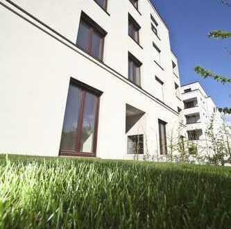 Exklusive Erdgeschosswohnung mit Gartenanteil