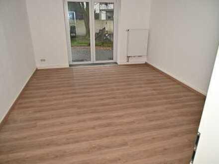 Zwei Zimmer-K-B-Wohnung mit Terrasse/ Garten in Münster, Hansaring, bahnhofsnah