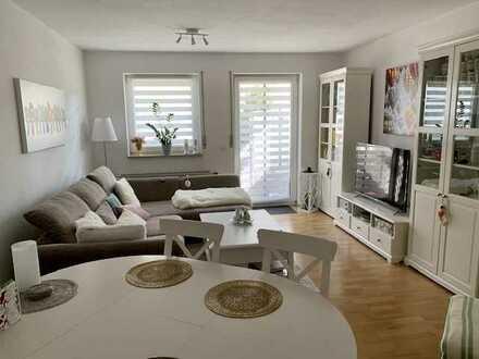 Helle 3-Zimmer-Wohnung mit ruhigem Garten in sonniger Südlage. Home-Office geeignet!