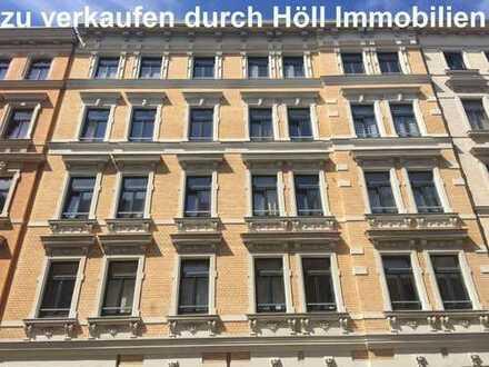 Grundbuch statt Sparbuch: 3 x 2-Raumwohnungen auf einer Etage, vermietet, zu verkaufen