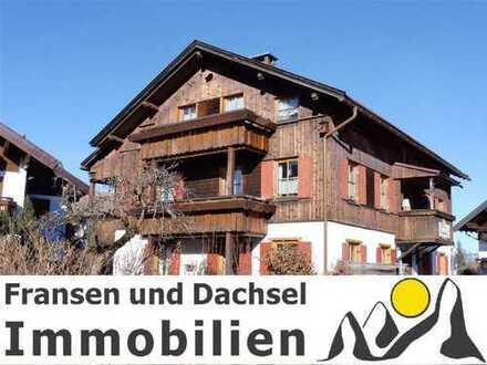 Mitten in Oberstdorf mit Traumausblick 3-Zimmer-Wohnung