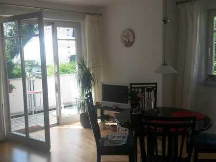 Gepflegte 2-Raum-Wohnung mit Balkon und Einbauküche in München-Trudering