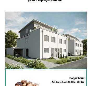 *RESERVIERT* Moderen Doppelhaushälfte mit Dachterrasse und Garten