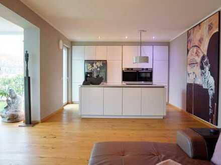 Voll Möblierte, Helle 3-Zimmer-Luxuswohnung mit Wintergarten, EBK und Garten in Schwabmünchen
