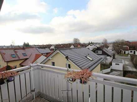 Vermietete 3-Zimmer-Dachgeschosswohnung mit Bergblick