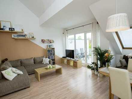 Helle 2ZKB DG-Wohnung mit Balkon und Einbauküche in Münster St. Mauritz