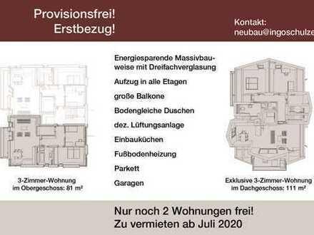 Erstbezug mit Einbauküche und Dachterrasse: stilvolle 3-Zimmer-DG-Wohnung in Germering