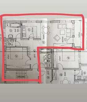 Stilvolle, helle, modernisierte 2-Zimmer-Wohnung mit großem Balkon und neuer EBK in Schorndorf